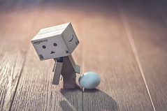 Technical Support. (Matt_Briston) Tags: danbo egg whatcamefirst
