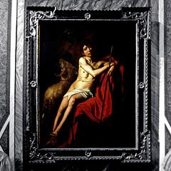 Caravaggio, San Giovanni Battista (pom.angers) Tags: panasonicdmctz30 february 2017 rome roma villaborghese galleriaborghese caravaggio sangiovannibattista johnthebaptist 17thcentury art painting lazio italia italy europeanunion 100