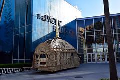 The Temple (jjldickinson) Tags: nikond3300 105d3300 nikon1855mmf3556gvriiafsdxnikkor promaster52mmdigitalhdprotectionfilter longbeach worldwoodday dtlb bus sculpture thetemple longbeachconventioncenter wood