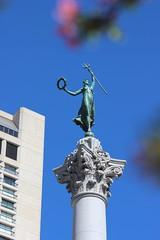 Dewey Monument, Union Square (New York Big Apple Images) Tags: sanfrancisco monument unionsquare dewey spanishamericanwar
