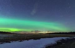Going green (Len Langevin) Tags: auroraborealis northernlights longexposure night sky alberta canada nikon d300s tokina 1116 nature green