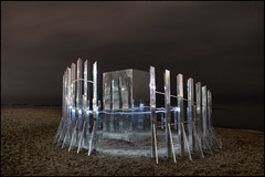 Illusions at the Illusory (syncros) Tags: illusory toronto beaches beach winter stations winterstations lightpainting longexposure nocturne alone