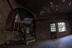 Abandoned bar in the suburbs inhabited by cats (Patrick Jokinen) Tags: abandoned urbex urban exploration spain andalucìa costa del sol hdr fisheye decay forgotten