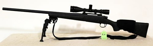Remington Model 700, 7mm Remington Magazine Sendero Bolt Action Rifle with Leupold 4x14 Tactical Hunter Scope and Tripold Legs ($644.00)
