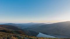 DSC_2141-2.jpg (TinaKav) Tags: cowicklow landscape sunset ireland water land outdoor orangesky bluesky wicklowmountains 2017 scenery outside lough nikond7100 scenic lake sky evening guinnesslake nikon