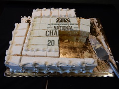 NATIONAL CHA 20 (Just Back) Tags: cake cut piece crumbs hunk square sweet white icing basketball ncaa eat lunch staley wilson coares gamecocks usc columbia sc