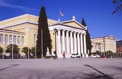 Zappeion (demeeschter) Tags: greece athens city town building architecture street park parliament gaurd trees zappeion botanical garden
