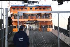 Staten Island Ferry Lower-level Boarding (NYCDOT) Tags: nycdot mayor bill de blasio borough president jimmy oddo staten island stgeorge ferry terminal coucil member debi rose