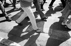 image0587-2 (apostolis hon) Tags: bw blackandwhite film 35mm analog analogue olympus athens croud candid street kodak apostolishon photography light shadow rushhour