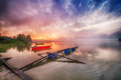 IMG_7326 ~ warna pagi (alongbc) Tags: sunrise jubakar tumpat kelantan malaysia travel places trip canon eos700d canoneos700d canonlens 10mm18mm wideangle sea water clouds sky