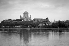 (Rob Hurson) Tags: pentax pentax67 esztergom hungary magyar spring blackandwhite kodaktrix400 d76 film filmphotography filmsnotdead 120film basilica cathedra town view reflection river mediumformat travelling europe centraleurope monochrome epsonperfectionv550 ilfostop ilfordrapidfixer kodakd76