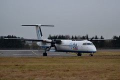 Flybe De Havilland Canada DHC-8-402Q Dash 8 G-JECZ at Edinburgh Airport 20/1/17 (CraigPatrick24) Tags: edinburgh edinburghairport aeroplane plane airplane transport flying flight aviation airliner aircraft jetliner flybe dehavilland dehavillandcanada dehavillandcanadadhc8402q dehavillandcanadadhc8402qdash8 arrival taxiway taxiing gjecz