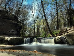 (Mahalograph Photography) Tags: water rocks waterfall powerful nature outdoors tree springtime sky