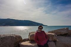 IMG_2063 (Antonio Todesco) Tags: mamma mom gargano pulia puglia calenella peschici mare spiaggia sea beach