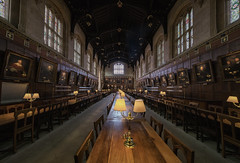 Welcome to Hogwarts (Andrew G Robertson) Tags: oxford christ church college university harry potter hogwarts dining hall canon1124mm canon5dmkiv mk4 mkiv 5d canon 11mm