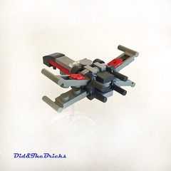 Classic Xwing (did b) Tags: xwing starwars moc microscale lego legomoc legocreation legodesign
