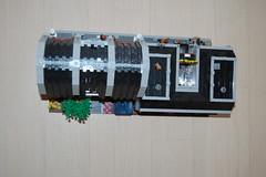 Overview (sander_koenen92) Tags: lego modular house doctor dalek weeping angel jewelry food store