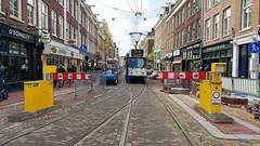 FB: de terugkeer 2 (Peter ( phonepics only) Eijkman) Tags: amsterdam city trapkar bn gvb tram transport trams tramtracks rail rails strassenbahn streetcars trolley roadworks wegwerkzaamheden nederland netherlands nederlandse noordholland holland