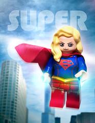 SUPER GIRL (Dambaek) Tags: lego supergirl dc superman comics animation customfigure mifi