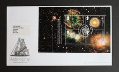 Astronomy -  FDC from DX29 'Across the Universe' Stamp Booklet (Darren...) Tags: