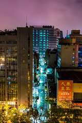 Colors (Dooquie) Tags: taipei taipeicity taiwan tw traveling travel taipeitaiwan taipeicycle taipeiinternationalcycleshow longexposure nightphotography night daandistrict daan