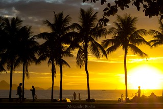 Sunrise in Copacabana