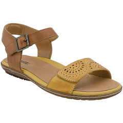 """Earth Star sandal bright yellow • <a style=""""font-size:0.8em;"""" href=""""http://www.flickr.com/photos/65413117@N03/33538953986/"""" target=""""_blank"""">View on Flickr</a>"""