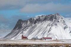 A church somewhere in Iceland (FollowingNature (Yao Liu)) Tags: icelandphotos icelandphototrip icelandwinter icelandnorthernlights icelandwinterphotos icelandphotography iceland snow icelandphotoswinter icelandphotographylocations