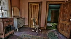Rose's Farmhouse (36) (Darryl W. Moran Photography) Tags: urbandecay abandonedfarmhouse frozenintime leftbehind oldfarm urbex urbanexploration darrylmoranphotography oldfurniture