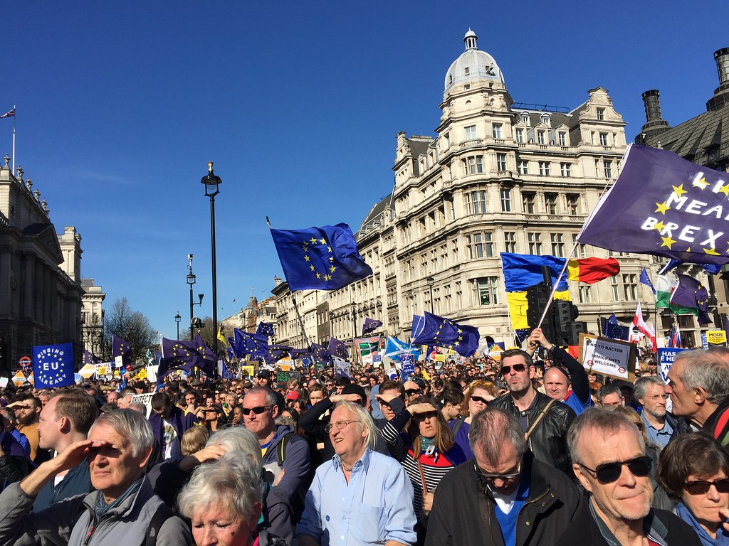 Unite for Europe March 25th March by Elfleda, on Flickr