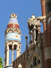 L'hôpital saint Paul à Barcelone: une merveille!❤️ (FMS92) Tags: barcelone hospitalsantpaubarcelone modernisme