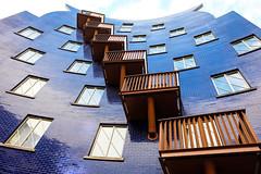 Six Of One... (Douguerreotype) Tags: balcony london uk purple british buildings diagonal window city architecture britain urban gb england