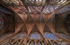DSCF1081 (Enrique Jiménez Montes) Tags: catedral vidrieras leon luz