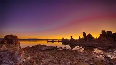 Monolake (Bluevisionart) Tags: monolake nikon d800e nikond800e 1424 usa sunset lake water nature magic colours wilderness outerspace