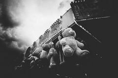Tierfriedhof (Rauschverteilung Fotografie) Tags: clouds heaven dark street eisenach monochrome blackandwhite bw
