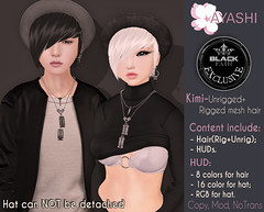 [^.^Ayashi^.^] Kimi hair special for Black Fashion Fair 2017 (Ikira Frimon) Tags: rigged hud anime m3 utilizator nice head mesh ayashi doll outfit hair blogger costume frimon ikira follow post blog fashion sl life second event girl beautifully special exclusive tsg kawaii kawai cute hairs sensuality lovely sexually cosplay short quiff forelock bang obliquefringe unevenbangs cap hat kimihairspecialforblackfashionfair2017 kimi blackfashionfair2017 blackfashion fair2017 blackfashionfair black fair 2017