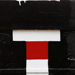 T (Glassholic) Tags: barge abstract color black red white graphism minimalism