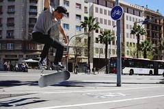 Skater (Eros Cerello) Tags: canon canon700d canon24mm canonphoto skate skater street streetphoto barcelona barcellona