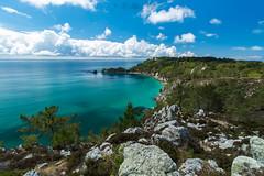 Blank island (khan.Nirrep.Photo) Tags: rocher rocks océan bretagne breizh bleu blue beauté falaise presquile crozon finistère sky