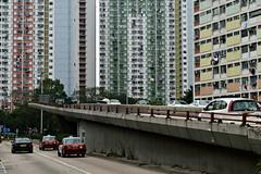 Hong Kong public housing (austinjosa) Tags: housing estates publichousing choihung kowloon hongkong city citylife urban road lungcheungroad traffic