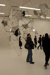 What to Make of It All? (JB by the Sea) Tags: sanfrancisco california march2017 sanfranciscomuseumofmodernart sfmoma financialdistrict tomassaraceno stillnessinmotioncloudcities