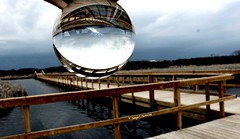 2017-04-11_07-50-53 (tpaddison1) Tags: marsh sky boardwalk serenity hiddenworld globe architecture tranquility
