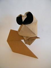 Owl - Stephan Weber (Rui.Roda) Tags: origami papiroflexia papierfalten buho mocho coruja eule hibou owl stephan weber