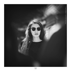 ETR PHOTOGRAPHY  ERSİN TÜRK - ETR0098 (ETR | Ersin Türk) Tags: model profoto ersintürk ersintürkfotoğraf etrfotograf etr portrait portre blackandwhite black white people rayban eskişehir mart 2017