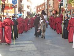 Domingo de Ramos (JoséDay) Tags: santacolomadegramenet semanasanta barcelona streetscene streetshot panasonicdmctz10 peopleinthestreet religion folklore
