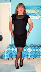New LBD (Trixy Deans) Tags: crossdresser cd cute crossdressing crossdress classic classy cocktaildress dress legs shortskirt shortskirts xdresser sexy sexytransvestite sexyheels sexylegs sexyblonde
