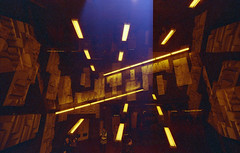 ideogram (m_travels) Tags: sign konorotwild400cn 35mmfilm filmphotography experimental analogue lightleak motionpicturefilm sanfrancisco sf red yellow abstract doubleexposure multiple