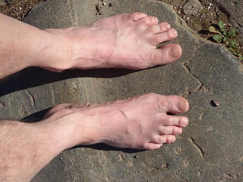 Rome - via appia antica, pilgrim feet, damian