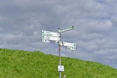 Signpost (jochenspieker) Tags: sel50f18 norddeutschland signpost