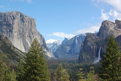 Yosemite Valley (Steve W Lee) Tags: yosemite yosemitevalley halfdome waterfall yosemitenationalpark elcapitan anseladams bridalveilfalls bridalveilfall bridalveil yosemitewaterfall